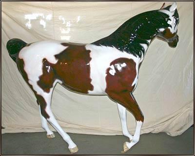 Fiberglass Horse Statues Main Street Collectors