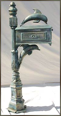 Cast Aluminum Mailboxes Early American Mailboxes Main